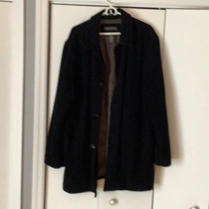 BANANA REPUBLIC BLACK WINTER COAT